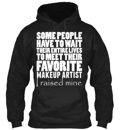 Makeup Artist Black T-Shirt Front
