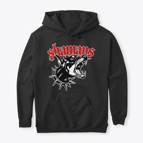 Junkyard Dog Black T-Shirt Front