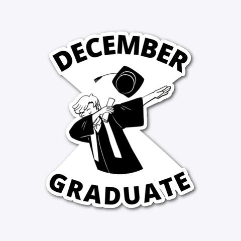 December Graduate Dab Standard T-Shirt Front