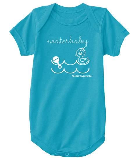 Water Body St. Clair Surfwear Co. Turquoise T-Shirt Front