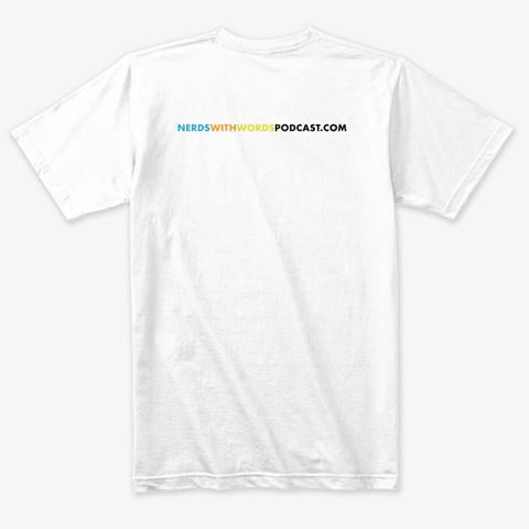 Nww   3 Heads   White Series Heather White T-Shirt Back