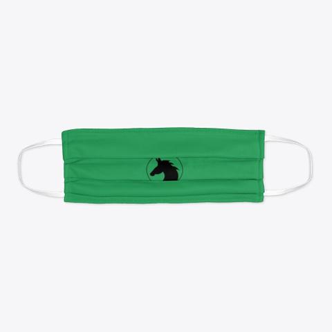 Horse Head  Green T-Shirt Flat