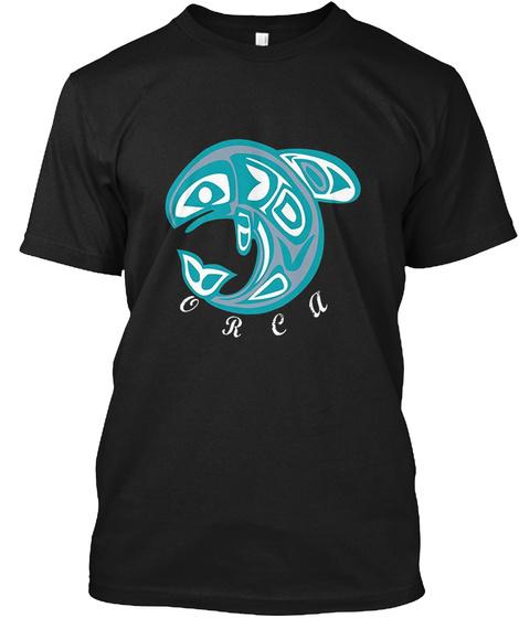 Orea Black T-Shirt Front