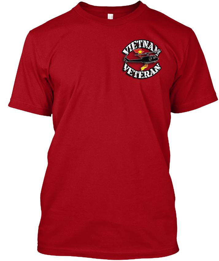 Vietnam-Veteran-Ptsd-Certified-Disfunctional-Hanes-Tagless-Tee-T-Shirt thumbnail 8