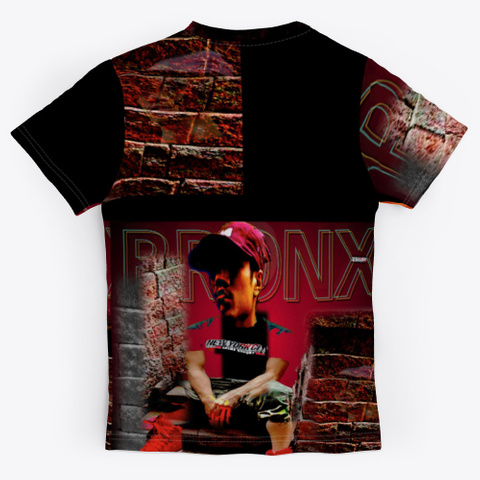 The Bronx  Black T-Shirt Back