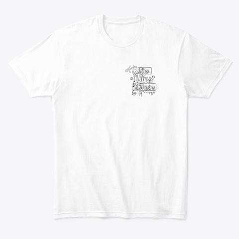 Last Woman Standing   Pocket Print (W) White T-Shirt Front