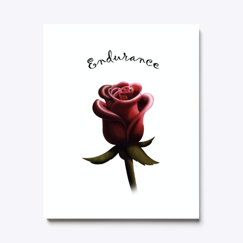 Endurance   Rose Art Standard T-Shirt Front