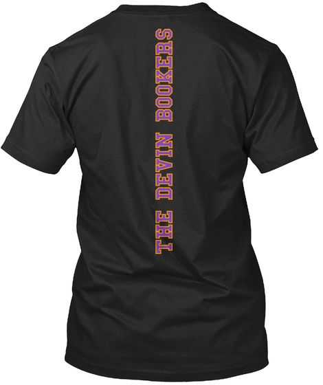 The Devin Bookers Black T Shirt Back