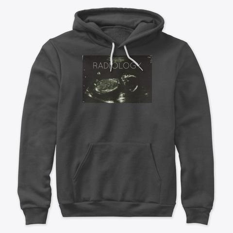 Sonography Merch Dark Grey Heather T-Shirt Front