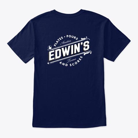 Edwin's Og Tee Navy T-Shirt Back