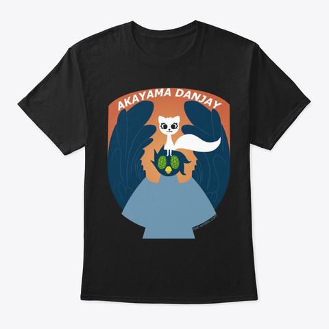Akayama Dan Jay Black T-Shirt Front