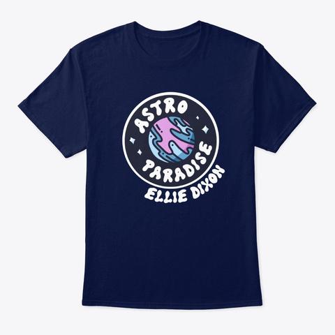 Astro Paradise   Dark Navy T-Shirt Front