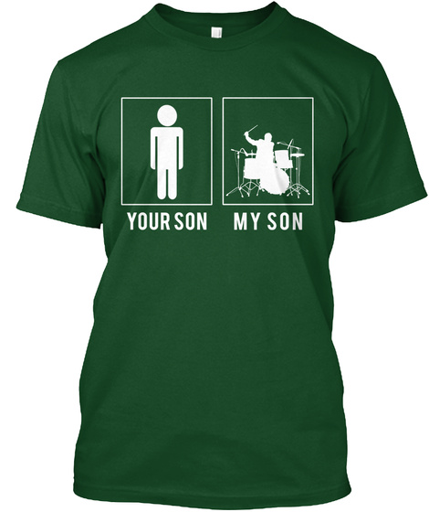 Your Son My Son Deep Forest T-Shirt Front