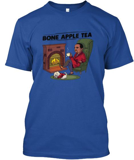 Bone Apple Tea Deep Royal T-Shirt Front