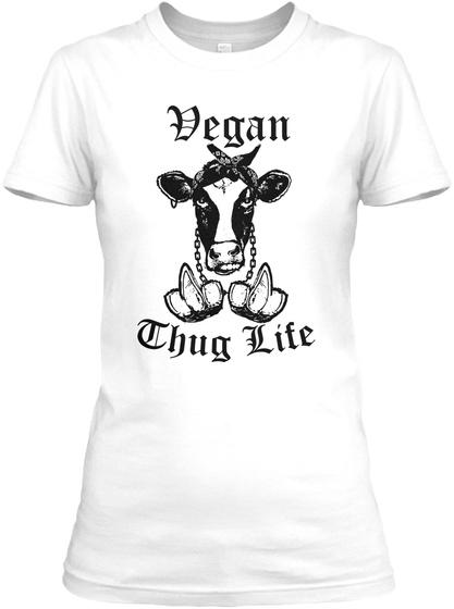 Degan Chug Life White T-Shirt Front