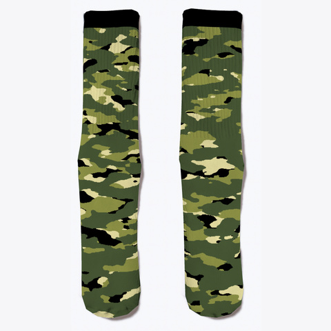 Military Camouflage   Jungle Ii Standard T-Shirt Front