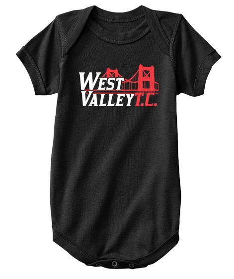 West Valley T.C. Black Camiseta Front