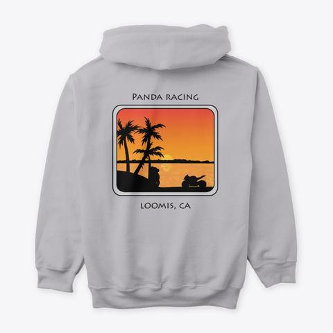 Beach Sunset Sport Grey T-Shirt Back