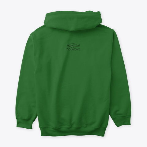 Camping Fun! Irish Green T-Shirt Back