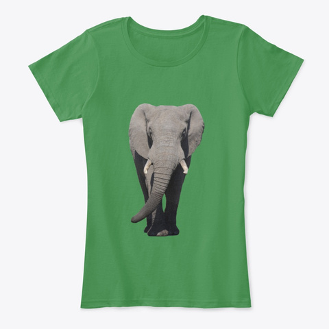 All Creatures Great & Small Kelly Green  T-Shirt Front