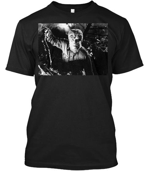 Wolfman Black T-Shirt Front