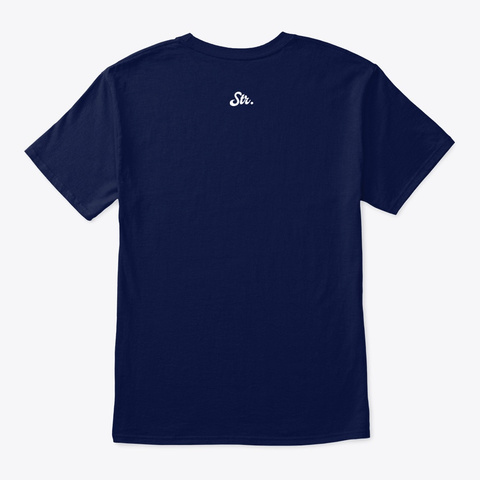 Terraform Navy T-Shirt Back