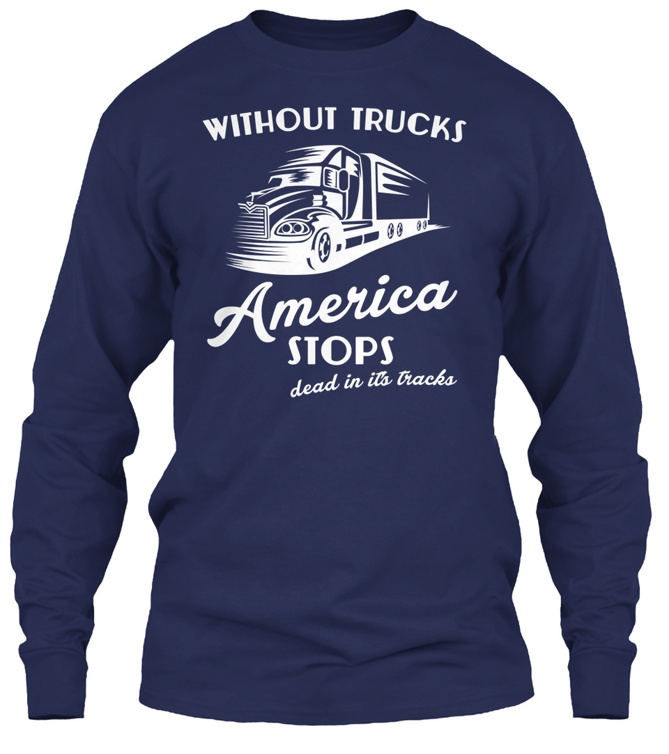 Without Trucks Australia Stops Truck Shirt