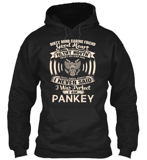 Pankey Name Perfect Black T-Shirt Front