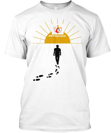 #Wy Dpoland White T-Shirt Front