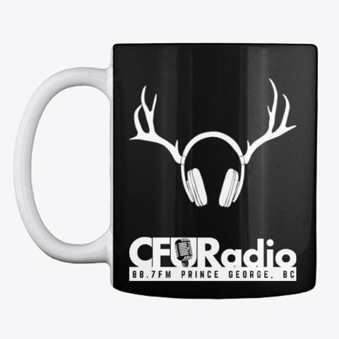 Cfur Mug Classic   Black Black T-Shirt Front