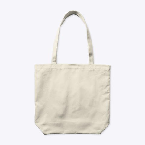 The True Project Tote Natural T-Shirt Back