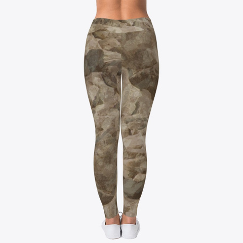 Desert Camo Leggings Standard T-Shirt Back