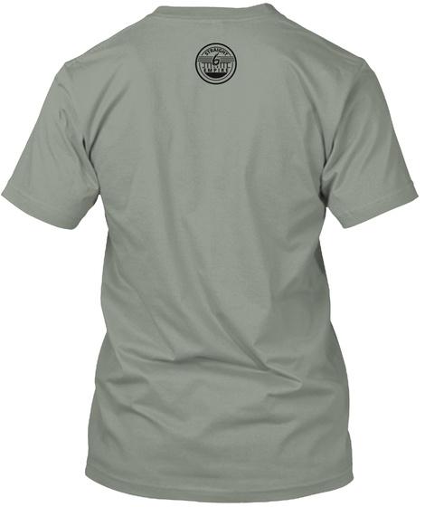 Straight 6 Prime Grey T-Shirt Back