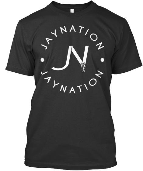 Jaynation N Jaynation Black T-Shirt Front