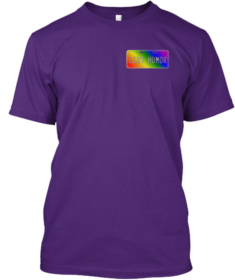 N2 Grlzonly! Purple T-Shirt Front