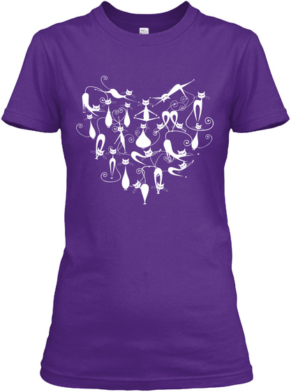 Heart Of Cats Women's T-Shirt Front