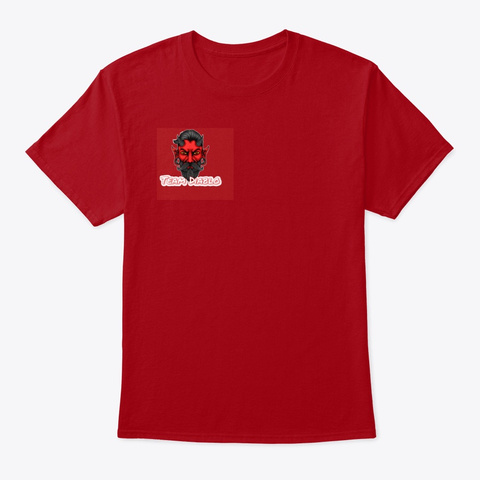 Team Diablo Deep Red T-Shirt Front
