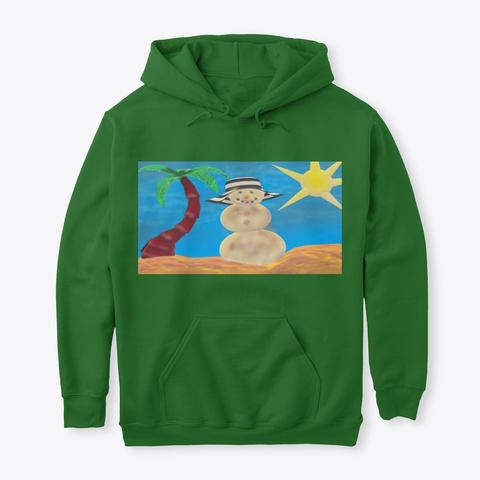 d83104a333 Snow Man Beach Bum Shirt Irish Green Sweatshirt Front