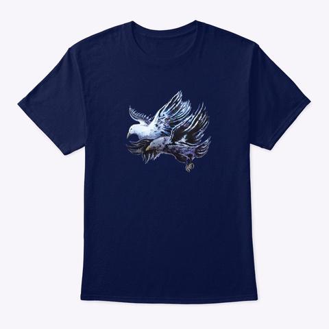 Flight Navy T-Shirt Front