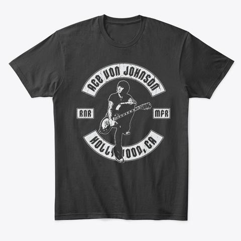 Avj · «Biker» Black T-Shirt Front