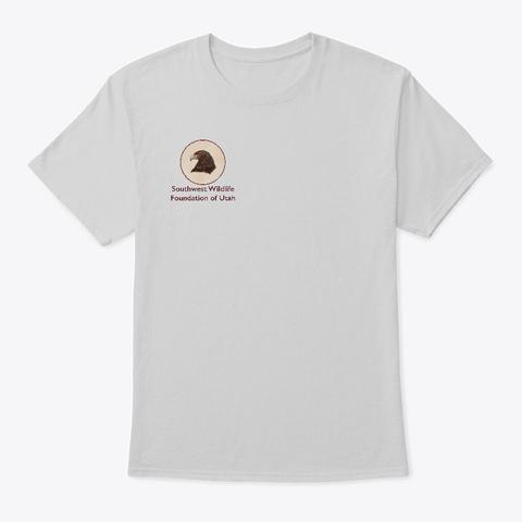 Belle The Harris Hawk Light Steel T-Shirt Front