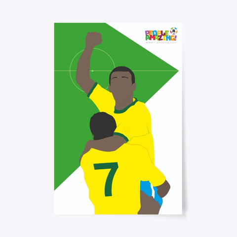 Pele – People 'R' Amazing Poster Standard T-Shirt Front