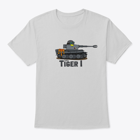 Tiger 1 Light Steel T-Shirt Front