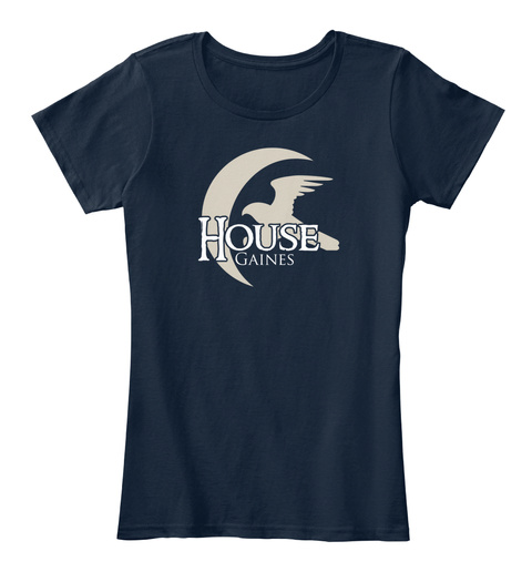 Gaines Family House   Eagle New Navy T-Shirt Front