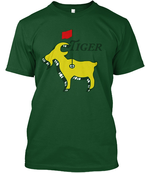 Tiger Shirt Y00 Deep Forest T-Shirt Front