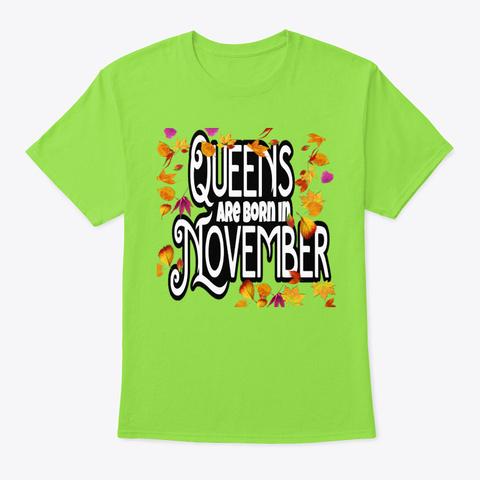 November Lime T-Shirt Front
