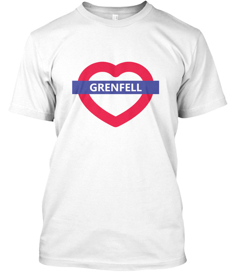 Grenfell White T-Shirt Front