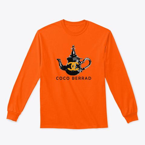 Coco Berrad Safety Orange T-Shirt Front