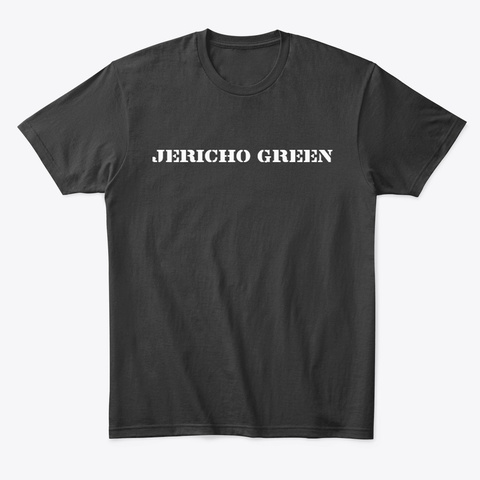 Jericho Green A Team Style Black T-Shirt Front