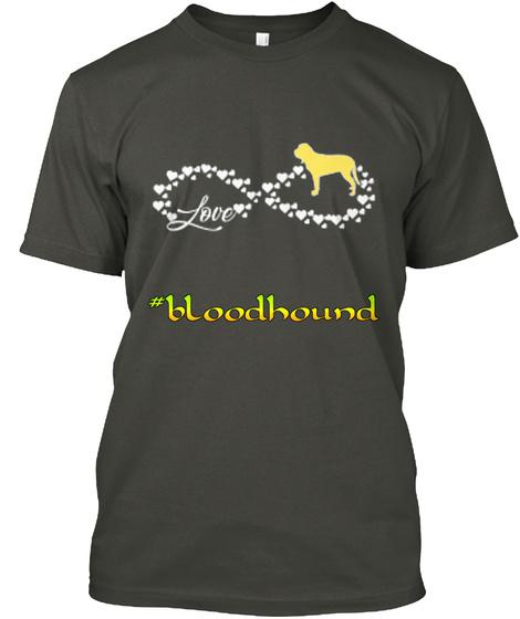 Bloodhound Infinity Love  Smoke Gray T-Shirt Front